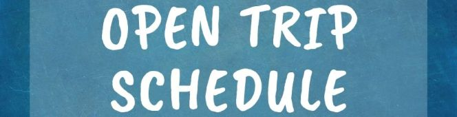 JADWAL OPEN TRIP TAHUN2019